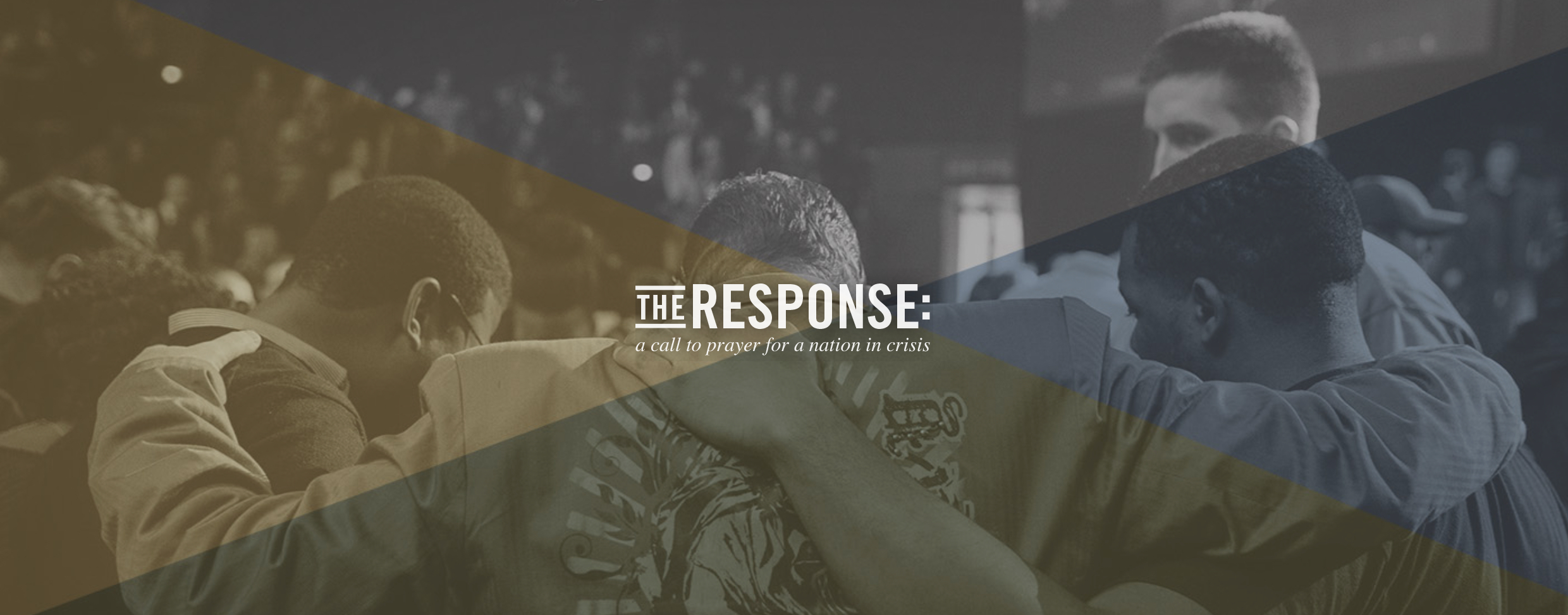 The Response: A Call to Prayer 9.26.15